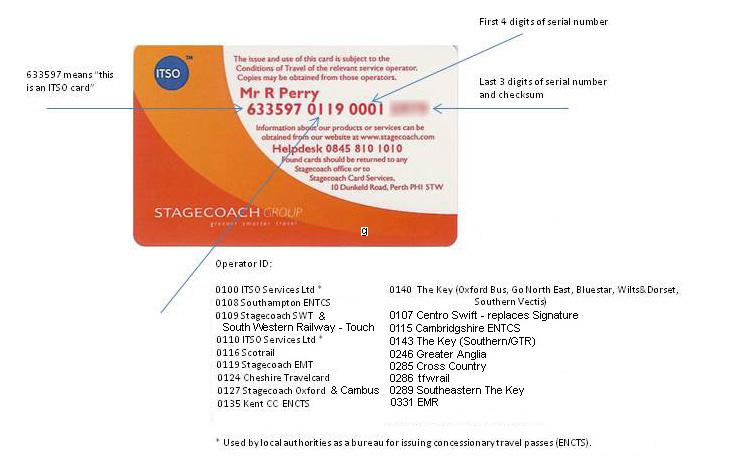 service smart card